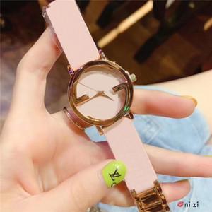 Luxus Berühmte Designer Mode Frauen Armbanduhr Top qualität beliebte dame kleid uhr quarz echtes leder uhr modernen stil klassische