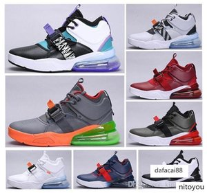brang Force Ma full leather men s cushion damping sports Outdoor running 27C ladiesMedium high help training shoes size 40-45