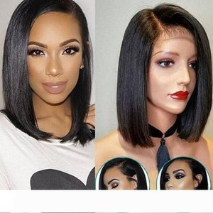 Bob ombre natural part Hairy Wige Brazilian Short Lace Front Human Cosplay Wigy Black Hair Curly Haire Accessory clip on Weave