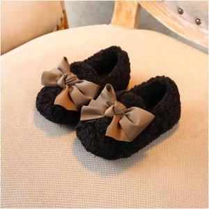 Kids Fashion Casual Shoes ragazze für Scarpe per bambini Tinta unita Appartamenti Bambini Low-top scarpe Arco-nodo di primo Walkerss Top Quanlity