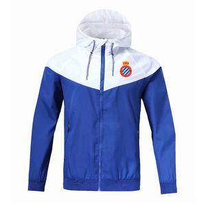 La Liga espanyol Fußball Reißverschluss Windjacke Langarm Jacke Mantel winter Sport Fußball Windjacke hoodie Jacke Sportbekleidung Herren Jacken