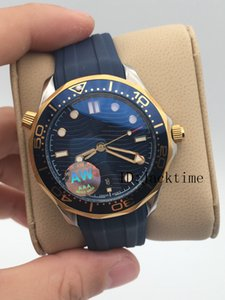 AWF Best Edition 2018 Basel World Nuovo modello di orologi da polso cinturino in gomma originale orologio di lusso movimento meccanico 42MM Orologi automatici da uomo