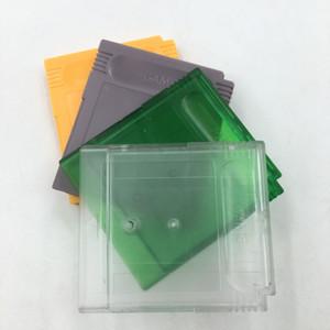 Substituição 10PCS Limpar Verde para GBA SP W / Parafuso jogo cartucho Habitação Shell para GB Card Case GBC