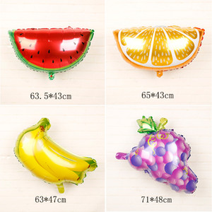 mexico Food Festival party decoration fruit balloons tropical cactus pineapple watermelon aluminum film Inflation balloon LX2942