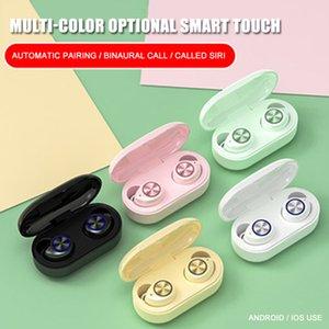 Auriculares estéreo 3D TW60 TWS verdadera auricular inalámbrico Bluetooth 5.0 Touch Sport Headset auriculares auriculares con micrófono Tipo C