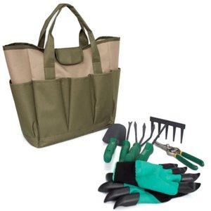Outils de jardinage Outils de jardinage Set Organisateur Fourre-tout Sac de transport de sac de jardin