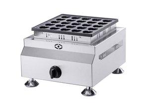 Free shipping 25 holes Gas type Heart shaped Mini Pancake Machine Pancakes Grill