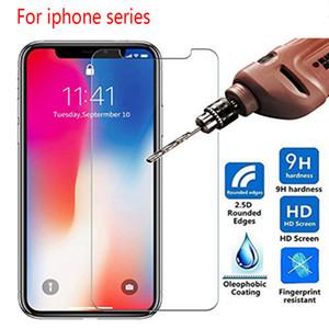500pcs 0.3mm 9H Ausgeglichenes Glas für iphone X 11 XS Pro Max XR 7 8 Screen Protector SE 2020 Schutzglas Glas