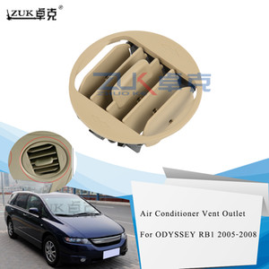 ZUK Brand New Roof Outlet Fin Assy AC Air Conditioner Vent For HONDA ODYSSEY RB1 2005 2006 2007 2008 OEM:83227-S3N-003ZL Beige
