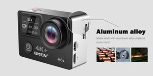 High Quality EKEN H6S Sport Camera 2.0+0.95 Dual Screen Full Mode EIS Video 4K WIFI 170 Super Lens Waterproof Action Cameras 1pcs