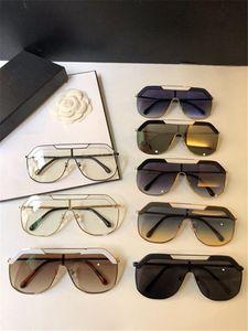 Protección UV400 tamaño de la manera del nuevo diseñador gafas de sol retro sin marco Gafas de sol de la vendimia del punk estilo de calidad superior de Eyewear con la caja