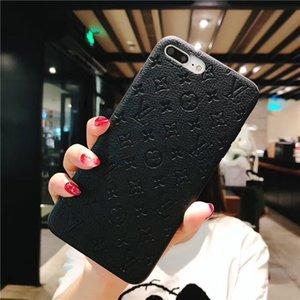 Impressum Muster-Telefon-Kasten für Samsung-Galaxie S10 5G S8 S9 Plus-S10E Hinweis 8 9 10 Schutzhülle für Huawei P30 Pro P20 Lite Mate-20 30