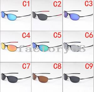 الاستقطاب النظارات الشمسية الرجال والنساء جديد الموضة الكلاسيكية النظارات الشمسية الإطار المعدني 4040 نمط خمر في الهواء الطلق