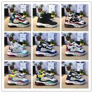 새로운 27 ENG 트래비스 스콧 선인장 어린이 27Os 트레이너 스포츠 스니커즈 크기 28-35 Maxes를 들어 신발을 실행 화이트 블랙 아이 트레일 반작용
