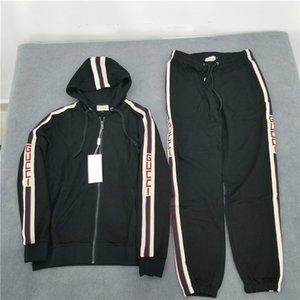 19ss vendita calda donne Uomo sportivo Tute stampa mimetica stampa della lettera di moda casual streetwear Suits Kit jacket + pants B1015141T