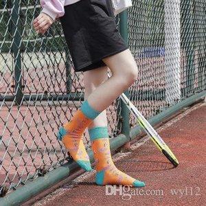 Frau Chunxia Neue Socken, Obst, Cartoons, Socken, Erdbeeren, Bananen, Baumwolle Personality Tide Socken Großhandel für Frauen