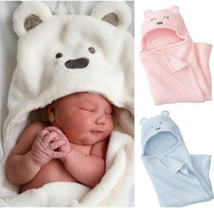 Cute Animal Baby-Bad-Babydecke Badetuch / Kinder Bad Terry Kinder Infant Baden / Baby Robe EEA1329