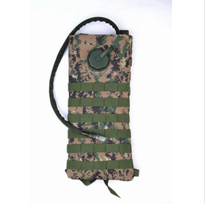 3L Water Bag Outdoor Camouflage Shoulder Hydration Backpack Riding Mountain Climbing Tactical Portable Water Bag Even Inner Wear