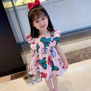 Mihkalev Toddler Baby Girl 2020 Summer Tutu Dress For Kids Cartoon Birthday Dance Dresses Children Clothing Costume