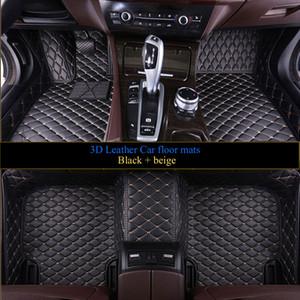 Auto Fußmatten für Mercedes Benz A C W204 W205 E W211 W212 W213 S Klasse CLA GLC ML GLE GL Teppich eine Schicht Auto-Styling-Liner