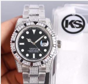 2020 production Ks de haute qualité en verre de cristal bleu 40x13mm Set vis watchSuper luminescente Par rapport à d'autres usines Iks plus de liens