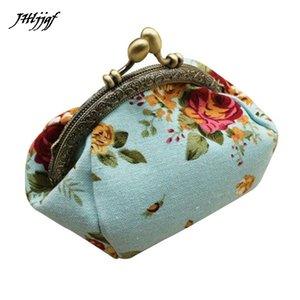 Mulheres Carteiras E Bolsas Mulheres Senhora Retro Vintage Flor Pequena Carteira Ferrolho Bolsa Clutch Bag Dinheiro Clipe Longo Carteira