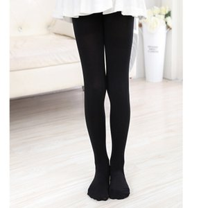 Kids Pantyhose Ballet Dance Tights for Girls Stocking Children Velvet Solid White Pantyhose Girls Tights