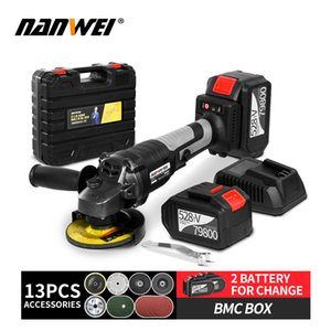 Electric Brushless angle grinder lithuim battery cordless angle grinder T200602
