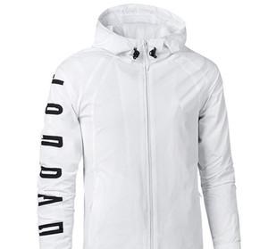Fashion-Designer Herren Windbreaker Brand Logo Dünne Jacke Active Running Outer Herren Jacken Sportbekleidung Outer Mäntel