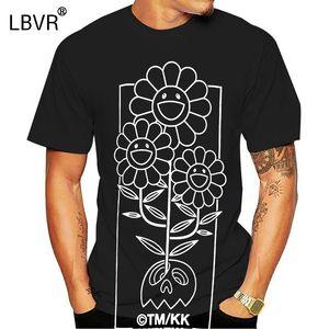 Complexcon limitée Takashi Murakami T-shirt Fleur double Xl Noir New Rare Art numérique T-shirt imprimé