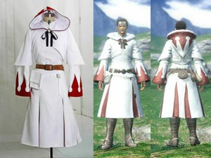 nuovo Final Fantasy XIV Cosplay White Mage del costume