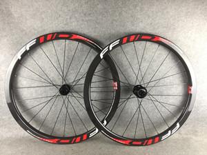FFWD 38mm Disc Center Lock juego de ruedas de bicicleta aro 6 tornillos 700C camino del remachador de la bicicleta de carbono wheelse