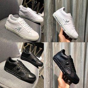 2019 Модельер Мужская Высокого класса Платье Повседневная Вечеринка Мокасины Обувь Cowskin Single Slip Роскошные Белые, черные Обувь