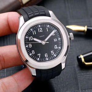2020 nouvelles montres-bracelets Mouvement automatique des aciers inoxydables de caoutchouc confortable boucle originale super lumineux hommes de montres