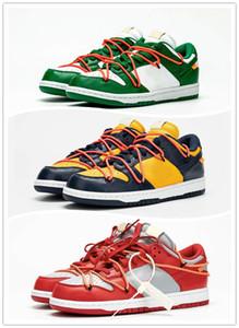 Futura x Dunk SB Low Hommes Chaussures de course Vert Mca Unitversity Bleu Rouge Gris Hommes Designer Chaussures de skate Baskets Sneakers Chaussures Zapatos
