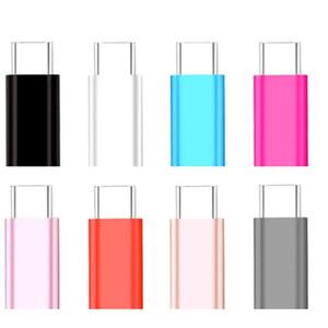اكتب C محول محول ذكر لمايكرو USB أنثى محول مايكرو USB موصل USB-C محول لهواوي ون بلس 2 XIAOMI لسامسونج