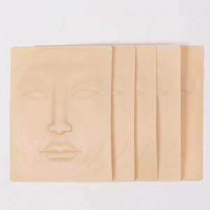 3D Silikon Yüz Dövme Uygulaması Cilt Kaliteli Dövme Tasarım Sahte Skins başlayanlar Kalıcı Makyaj Uygulaması