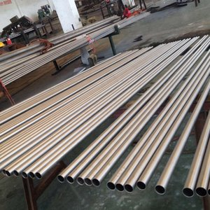 Gr5 Seamless Titanium Tubes High Quality Astm B338 Gr7 Seamless Titanium Tube price for industry thin wall