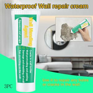 3pc 100ml mouldproof Válido pared de la reparación Agente Wall Repair Cream grieta reparador de uñas de secado rápido parche restaurar originales