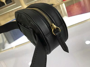 Cinturón 476.434 18cm Marmont de Matelasse cuero de 2 g Bolsa, Bolsa de cintura, Cierre de cremallera superior, cuero Forro: Ven con la bolsa para polvo Box