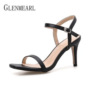 Women Shoes High Heel Sandals Black Microfiber 2020 Spring Female Woman Pumps Sandal Orange Nude Summer Outdoor Casual Shoe New