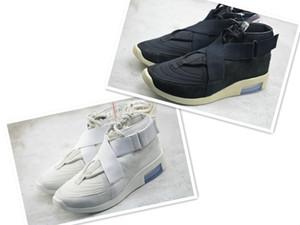 Melhor Qualidade Medo De Deus 180 Sneaker Para Homens Mulheres Sapatos Casuais Botas de Osso de Luz Preta para homens Nevoeiro Bota Sapatilhas Masculinas Sapatos de grife