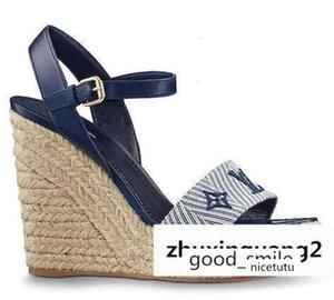 Vela lejos sandalia de la cuña 1a3rbw Mujer Sandalias Alpargatas Cuñas Diapositivas Correas Bombas Pisos de vestir zapatillas de deporte de los zapatos