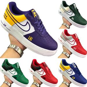 2019 forzato Low Cut One 1 Celti pelle Skateboard scarpa da tennis originali forzata 1 Celti tampone in gomma built_in Zoom Air Athletic Shoe