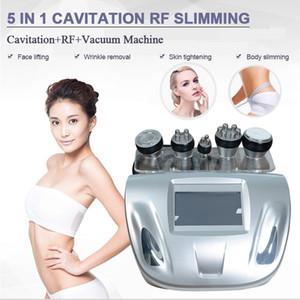 personnel cavitation machine vide Équipement de beauté infrarouge d'oxygène du visage machine multipolaire rf radio fréquence machine pour salon