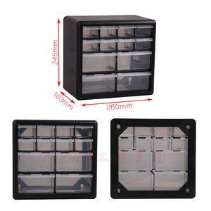Tool Parts della cassa della scatola Multi-grid cassetto tipo Building Blocks Caso parete vite componente Casella Scatole di plastica