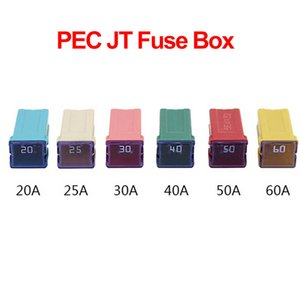uto Replacement Parts Fuses 1PC PEC JT 20 25 30 40A 50A 60A Insurance Auto Square Fuse Tube for Car Air Conditioning