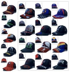 1pcs hulk Iron man kids boys lovely Fashion Sun Hat Casual Cosplay Baseball Cap children party gifts