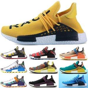 Adidas human race Autêntico Afro Hu Corrida Humana Pharrell Williams NERD traniers Sapatos Homem Mulheres Designs Correndo Jogging Caminhadas Sapatos Sneakers tênis esportivos