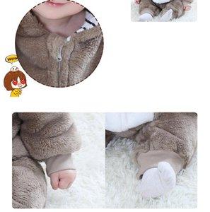 Orangemom 브랜드 가을 만화 의류 새로운 태어난 된 아기 플란넬 장난 꾸러기 아기 동물 패션 의류 여자 잠옷 아웃 의류